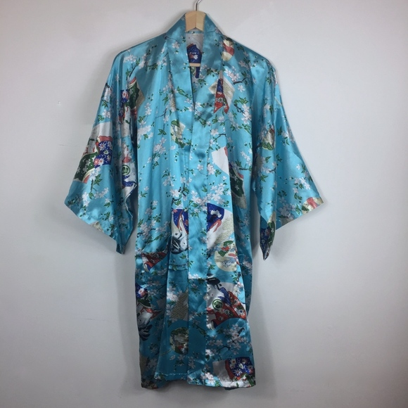 Esme Jackets & Blazers - ESME | Vintage |  Print Kimono